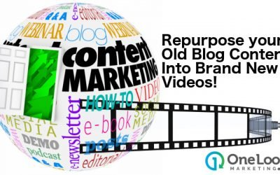 How to Repurpose Old Blog Content into Brand New Videos